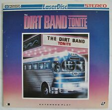 The DIRT BAND  TONITE Live Concert 1981  Bluegrass Country  Rock music LaserDisc