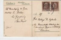 bavaria 1911 church building stamps card ref 20605