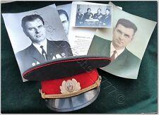 Russian Soviet POLICE Personal Photos OFFICER MVD HAT CAP USSR Militia Sz.56