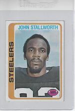 John Stallworth HOF 1978 Topps Rookie Football Card NM-MT