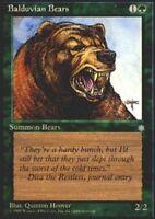 4x Balduvian Bears MTG Ice Age NM Magic Regular