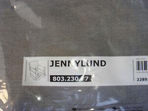 New Original  IKEA cover set for Ektorp JENNYLUND in NORDVALLA DARK GREY RARE