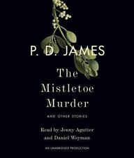 The Mistletoe Murder : And Other Stories by P. D. James (2016, CD, Unabridged)