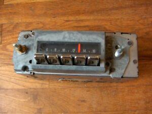 Pontiac Bonneville AM Radio Used 1969