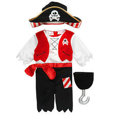Kostüm~USA~62-68~Pirat~Fasching~Karneval~Babykostüm~6 Monate~Overall~Totenkopf~
