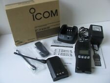 Icom Uhf Transceiver Commercial Radio Ic-F4061S Handheld Box Kit Charger Lot Set