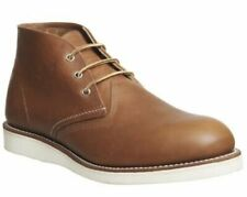 Casual Boot RED Wing Shoes 3140 Stivali Marrone in Pelle Lavoro 72205