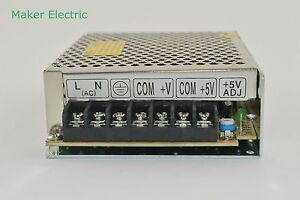 D-30A 30W DC5V DC12V Dual Output Switching Power Supply Adapter