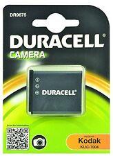 Duracell DR9675 Replacement Digital Camera Battery For Kodak KLIC7004