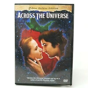 Across the Universe (DVD, 2-disc Deluxe Edition, 2007)