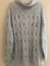 NEW Isabel Maternity by Ingrid & Isabel Gray Turtleneck Long Sleeve Sweater  XL