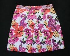 Basque Hand-wash Only Floral Regular Skirts for Women