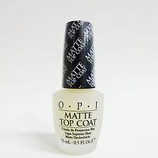 OPI Nail Polish Color MATTE Top Coat .5oz/15ml