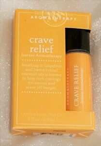 Bath & Body Works Aromatherapy Retired Crave Relief Roll On .3 Fl oz NEW NIB