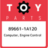 89661-1A120 Toyota Computer, engine control 896611A120, New Genuine OEM Part