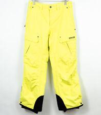 8848 Altitude Ski Trousers A-Tec Extreme Yellow Mens Size S