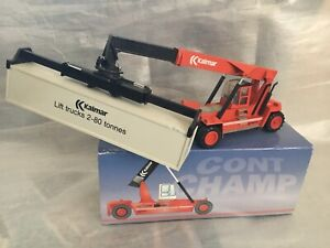 Kalmar Reach stacker  Container forklift fork lift truck RED VERSION BOXED