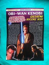 ►► Polish STAR WARS POPCORN Appendix 3 1999 Obi-Wan Kenobi POLAND