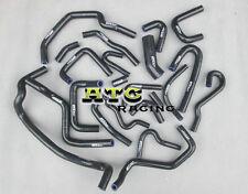 For Nissan Silvia/180SX/200SX S13 CA18DET Silicone Radiator Heat Hose Kit 22PCS