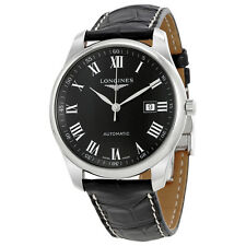 Longines Master Automatic Black Dial Mens Watch L2.893.4.51.7