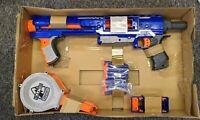 Nerf B7401 Rampage N-Strike Elite Toy Blaster with 25 Dart Drum Slam Fire