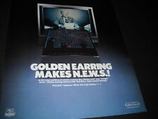GOLDEN EARRING in tradition of Radar Love and Twilight Zone 1983 PROMO POSTER AD