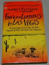 Fear and Loathing in Las Vegas, $1.50 paperback 1st print - FREE SHIPPING