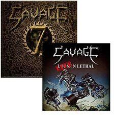 Savage - Live N Lethal / Seven [New CD] UK - Import