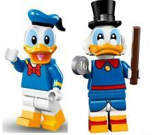 LEGO 71024 Scrooge McDuck & Donald Duck 71012 SEALED Disney Minifigures 2 CMF