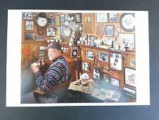 Willie Mays postcard by David Spindel - SF Giants Excellent Condition baseball