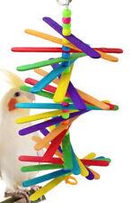 858 Long Mini Stick Bird Toy parrot cage craft toys cages cockatiel parrakeet