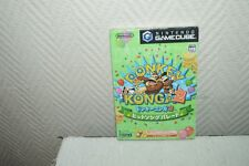 JEU VIDEO NINTENDO GAMECUBE DONKEY KONGA 2 BOITE VERSION JAPON KONG