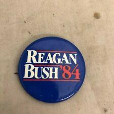 Reagan Bush '84 - political button pin