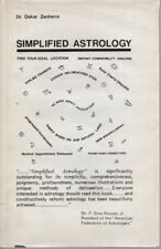Simplified Astrology - Dr. Oskar Zentarra - HC - 1971 - Astro Research Society.