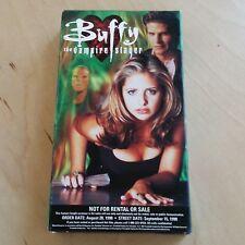 Buffy The Vampire Slayer Volume 1 Preview Videocassette VHS September 1998