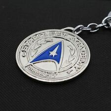 Keychain / Porte-clés - Star Trek Logo WARS STAR Metal Silver