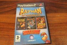 RAYMAN 10 eme ANNIVERSAIRE - 3 JEUX     ----- pour PS2