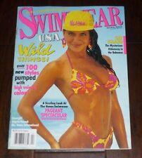 ANGELA RAZOOK SWIMWEAR USA Magazine April 1992 HI GRADE! Venus Swimsuits