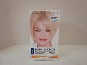 CLAIROL BORN BLONDE MAXIMUM BLONDING ALL SHADES FROM BLONDE TO BLACK MM 19887
