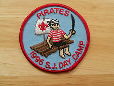 Boy Scout Patch Pirates S J Day Camp 1996