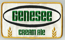 """Genesee Cream Ale   Uniform or Shirt Patch  5"""" X 8"""" Free USA Shipping"""