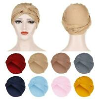 Women Hair Loss Cancer Chemo Cap Muslim Turban Hat Wrap Head Hijab N2T0