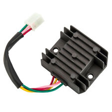 Universal 4 Wire 2 Phase Motorcycle Regulator Rectifier 12v Dc Bike Quad Scooter For Sale Online Ebay