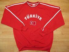 Turkiye ADULT  Sweatshirts Turkey Pride Crescent and Star  XL