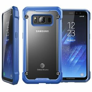 For Samsung Galaxy S8 S8+ Plus S8 Active, Genuine SUPCASE Bumper Case Slim Cover