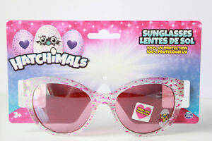 Hatchimals Girls Sunglasses 100% UV Protection Pink Kids Childrens Sun Shades 3+