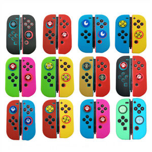 For Nintendo Switch Joystick Caps Silicone Case Skin Cover Protector Accessories