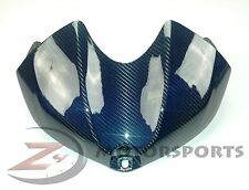 2008-2016 Yamaha R6 Gas Tank Air Box Cowl Cover Fairing 100% Carbon Fiber Blue