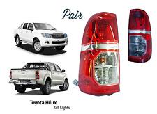 Toyota HILUX HI LUX Camioneta Trasera Con Luz Lámpara 2011-2016 par 2 PC M18M19