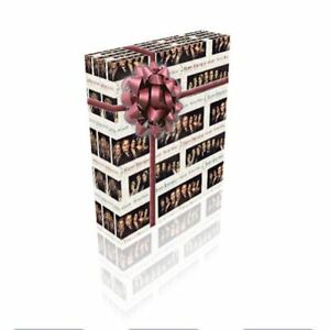 Downton Abbey M'Lady Personalised Birthday Gift Wrap With 2 Tags - ADD A NAME!